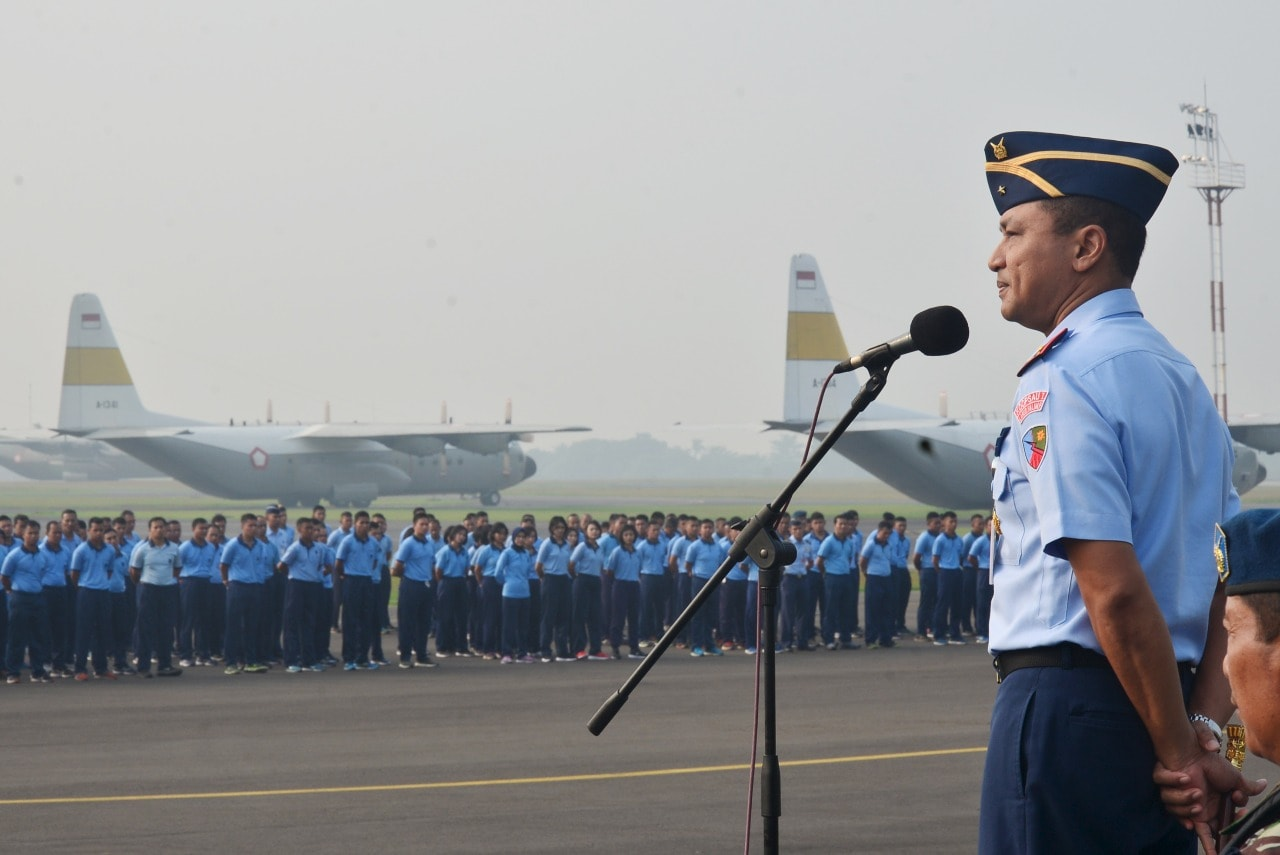 Jelang Libur Panjang, Danlanud Halim Perdanakusuma Ingatkan Anggota Untuk Hati-hati Dan Waspada