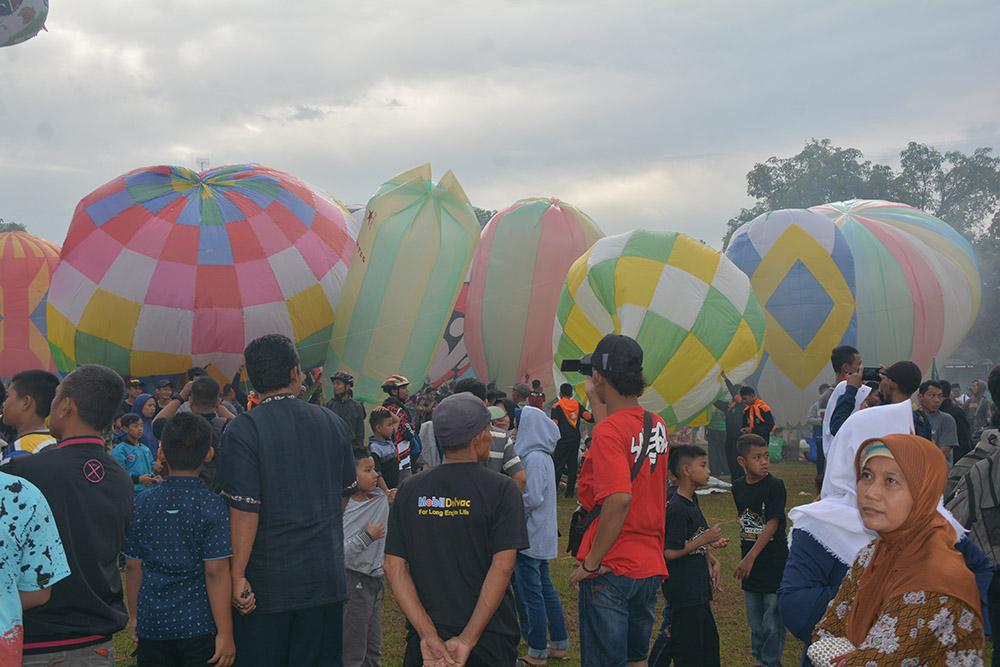 Lanud Iswahjudi, kirim 29 Anggota, Amankan Festival Balon Udara