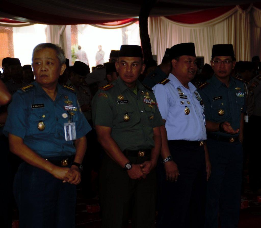 Komandan Pusdiklat Hanudnas Buka Puasa Bersama Panglima TNI Dan Kapolri