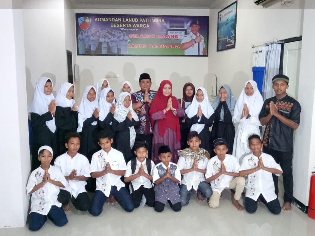 Lanud Pattimura Gelar Buka Bersama Dan Peringati Nuzulul Qur'an 1439 H/2018 M