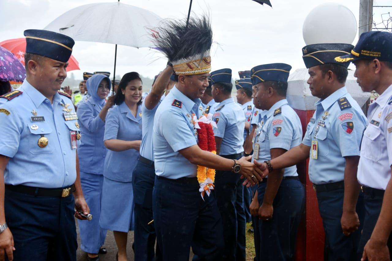 Pangkoopsau III Kunjungan Kerja Ke Lanud Jajaran