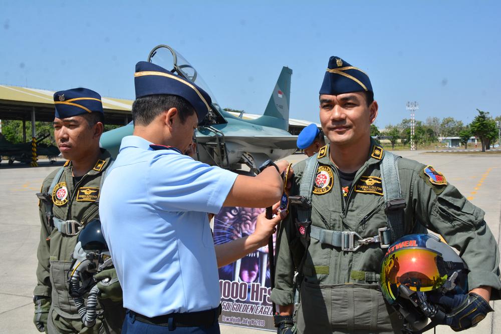 Pesawat T-50i Golden Eagle Lahirkan Kembali Pilot 'Rating' 1000 Jam Terbang