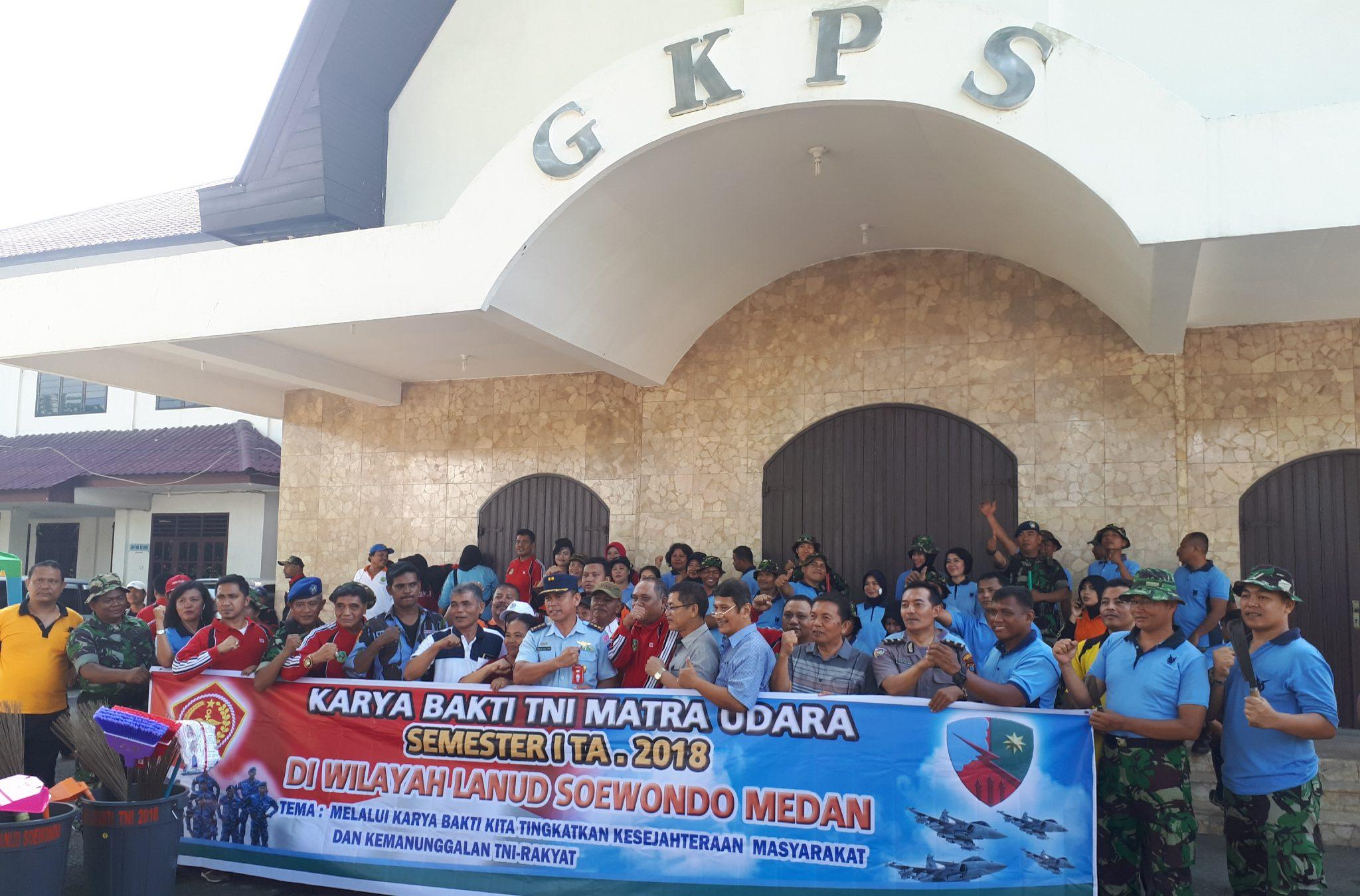 Karya Bakti TNI Matra Udara Di Lanud Soewondo
