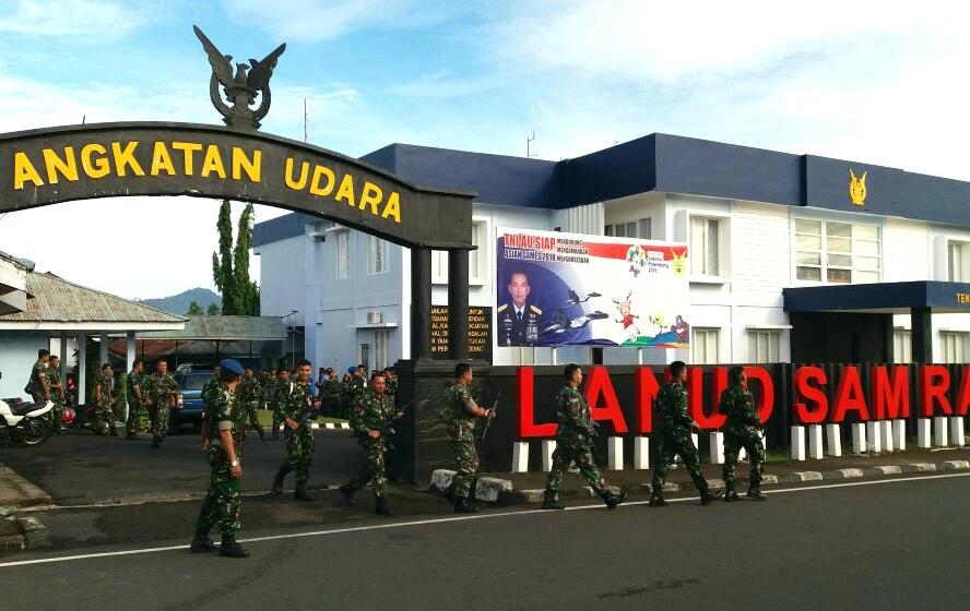 Hanmars Warnai Minggu Militer Di Lanud Sam Ratulangi