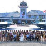 Finalis Miss Grand Indonesia Sambangi Lanud Halim Perdanakusuma