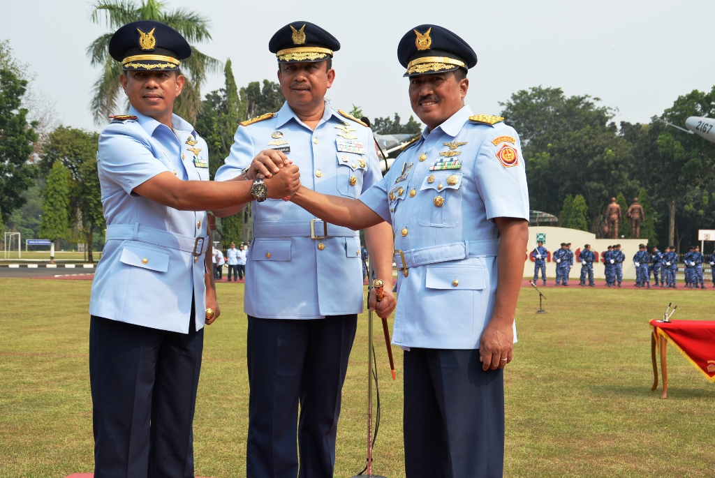 Pangkohanudnas Pimpin Sertijab Pangkosekhanudnas III Medan