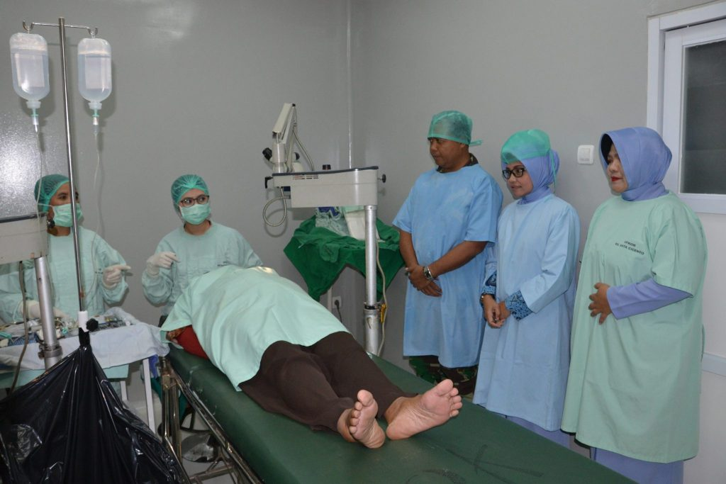 Operasi Katarak Gratis Di Lanud Sulaiman