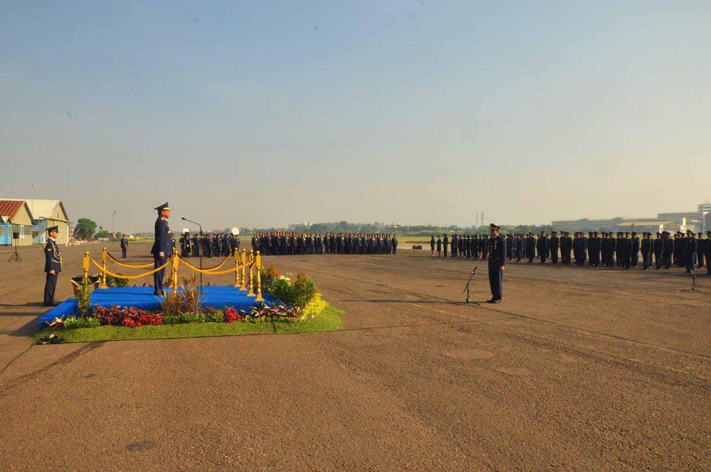 Peringatan Hari Bakti TNI AU Berikan Inspirasi Bagi Kita