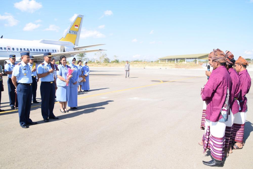 Pangkoopsau III Kunjungan Kerja Di Lanud El Tari