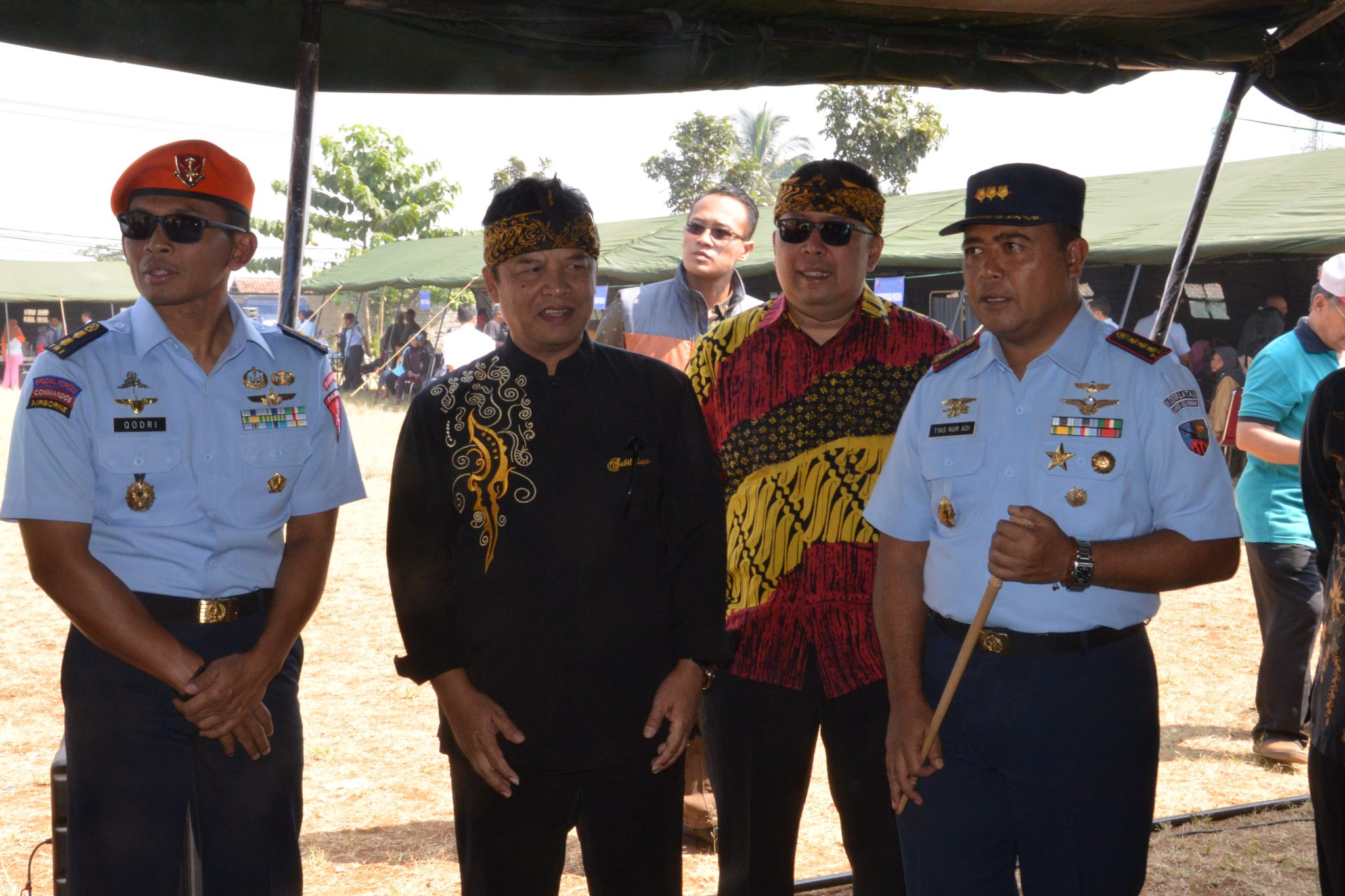 Bakti Sosial Lanud Sulaiman di Desa Neglasari Bandung