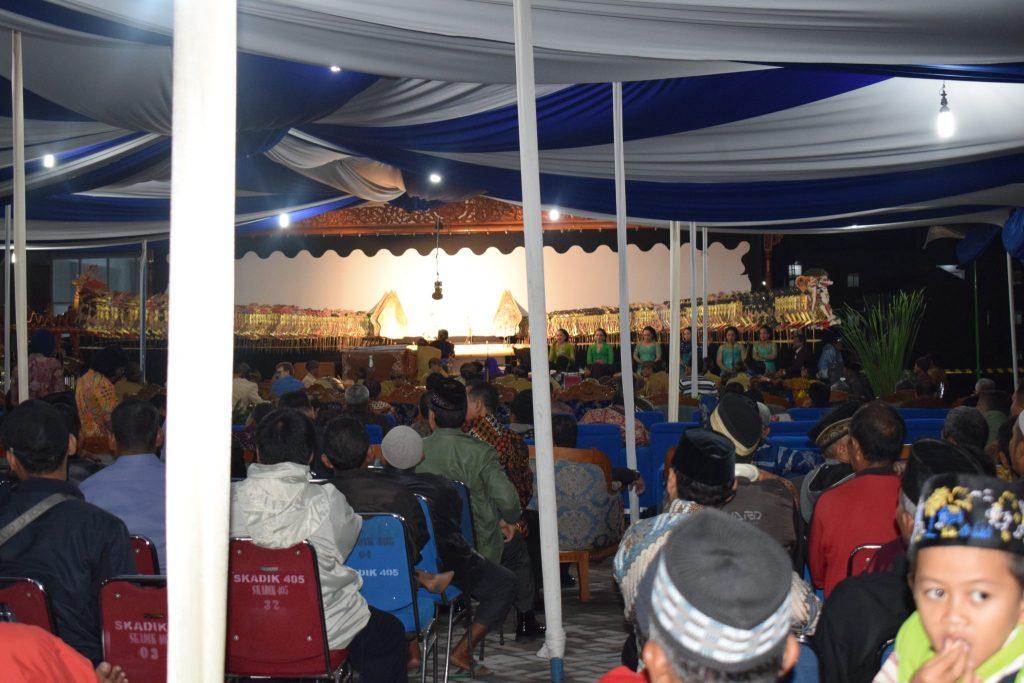 Ribuan Masyarakat Solo Raya Saksikan Pagelaran Wayang Kulit TNI AU