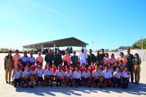 Yasarini Cabang Lanud El Tari Mengenalkan Sekolah Angkasa Lanud El Tari Pada Dunia Kedirgantaraan