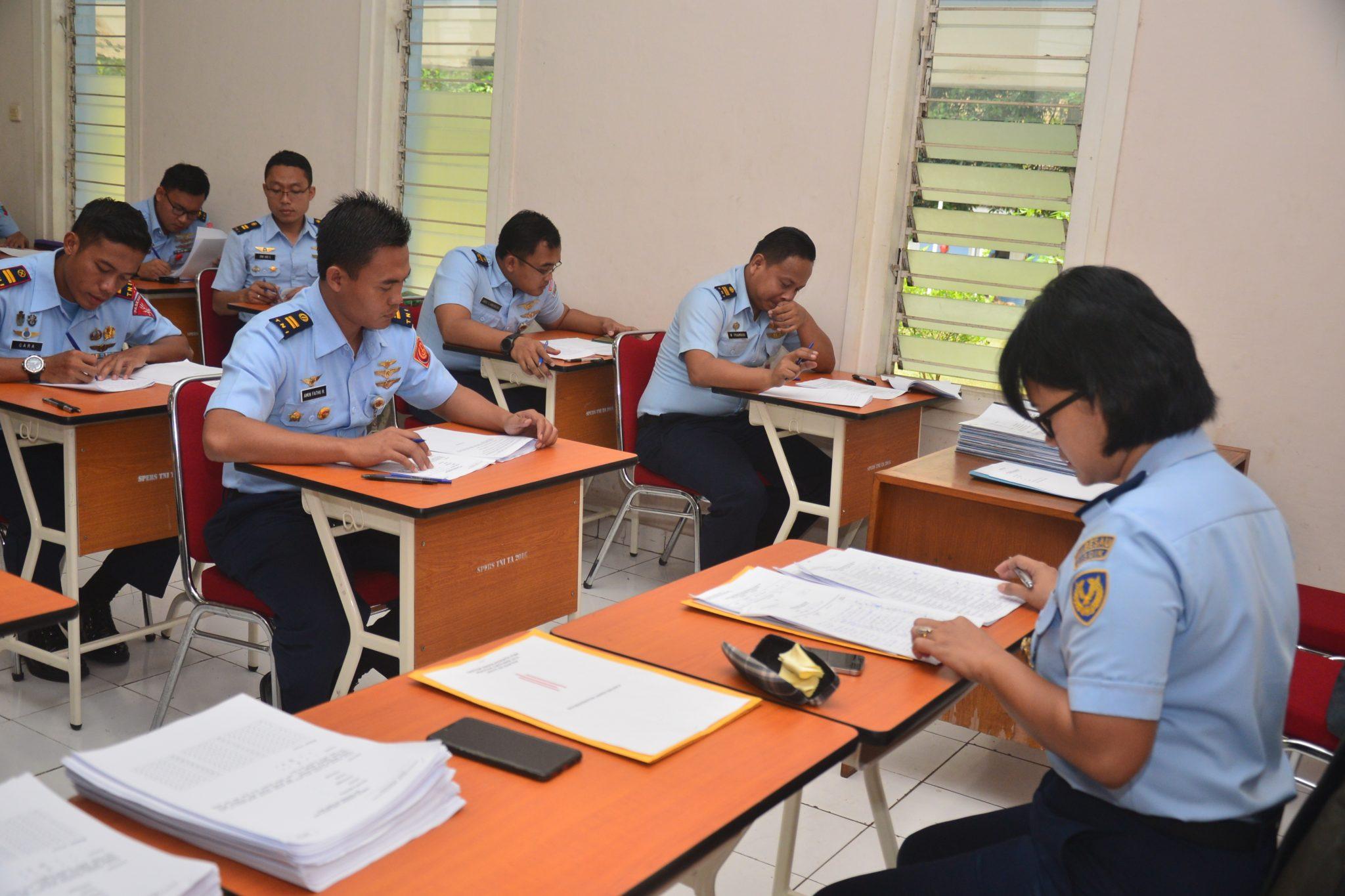 59 Perwira AU Ikut Ujian Mandiri di Lanud Halim Perdanakusuma
