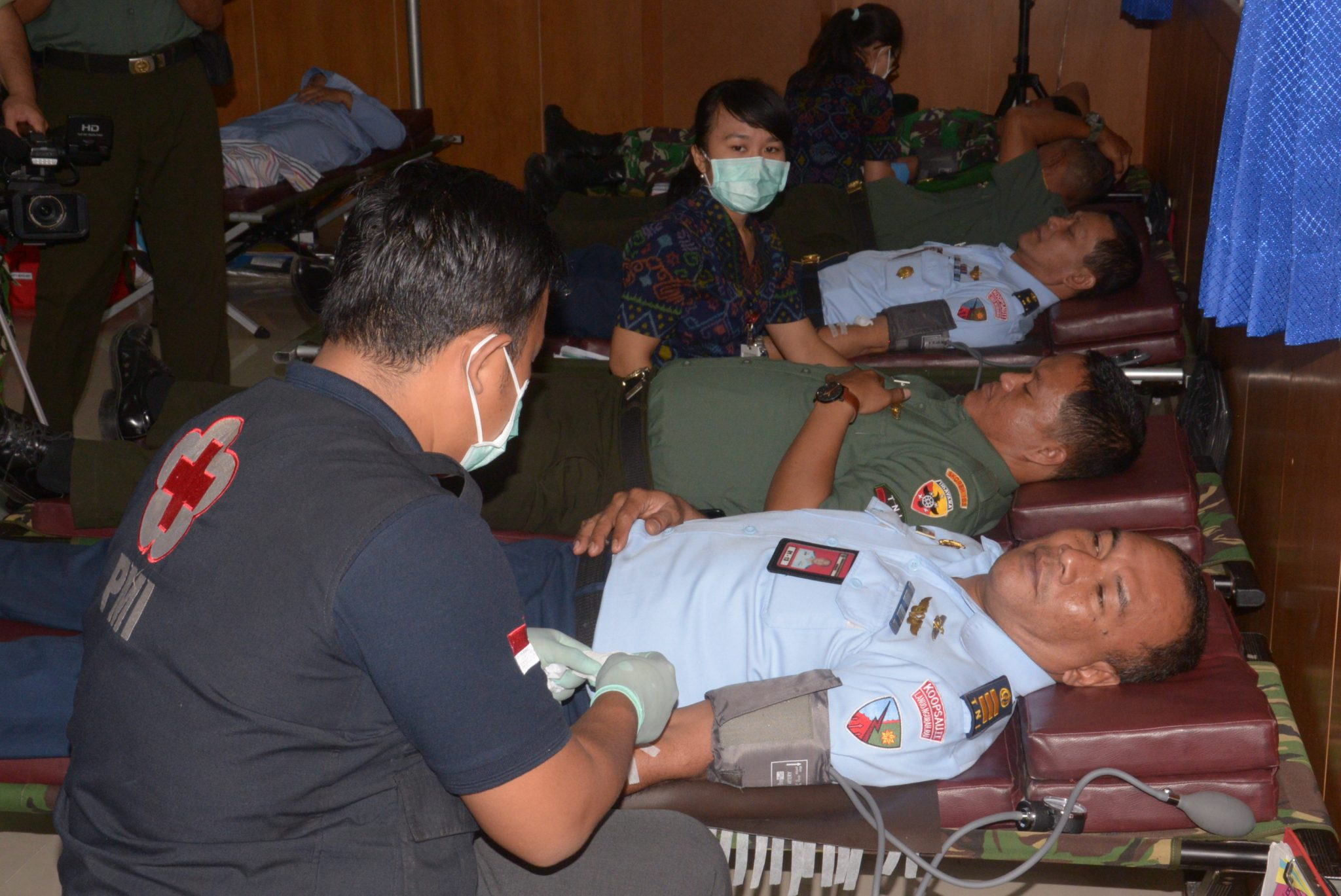 Lanud Ngurah Rai Gelar Bakti Sosial Donor Darah