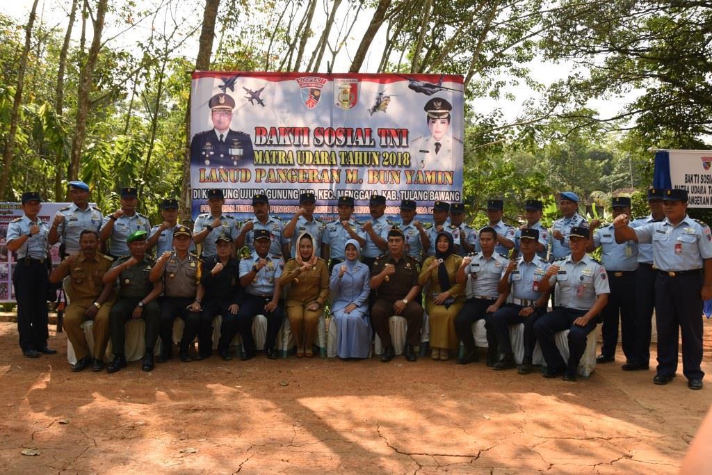 BAKTI SOSIAL TNI MATRA UDARA LANUD PANGERAN M. BUN YAMIN