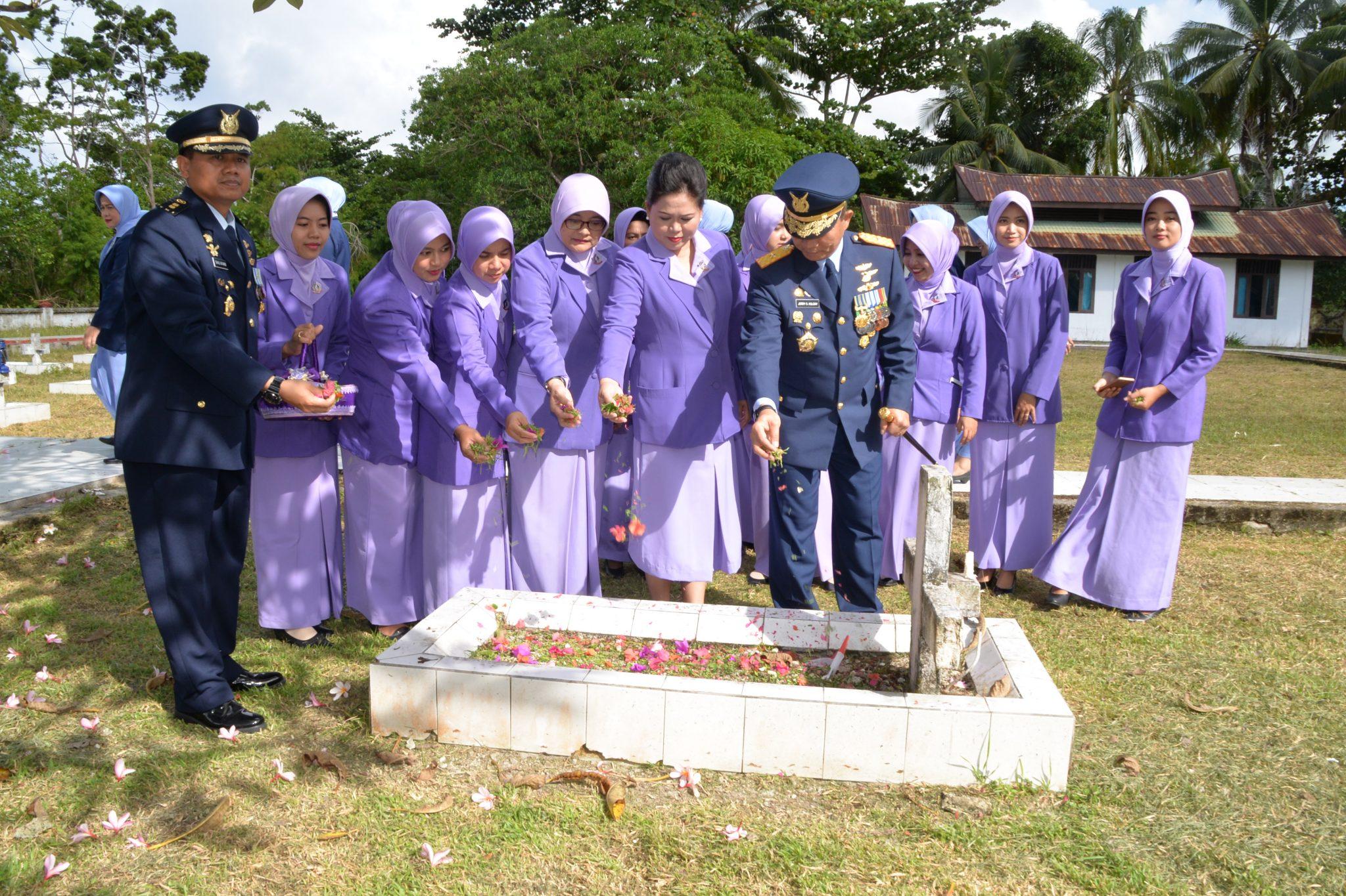 Pangkosekhanudnas IV, Pimpin Ziarah di TMP Cenderawasih
