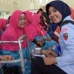 Warga Kecamatan Toapaya Padati Kegiatan Bakti Sosial Kesehatan