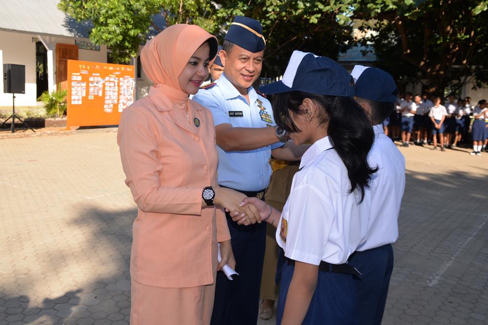 Pembukaan Tahun Ajaran Baru 2018-2019 Sekolah Angkasa Lanud El Tari