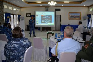Danlanud El Tari Pimpin Rapat Giat Final Planning Conferennce (FPC) Latma Rajawali Ausindo TA.2018 Dengan Raaf