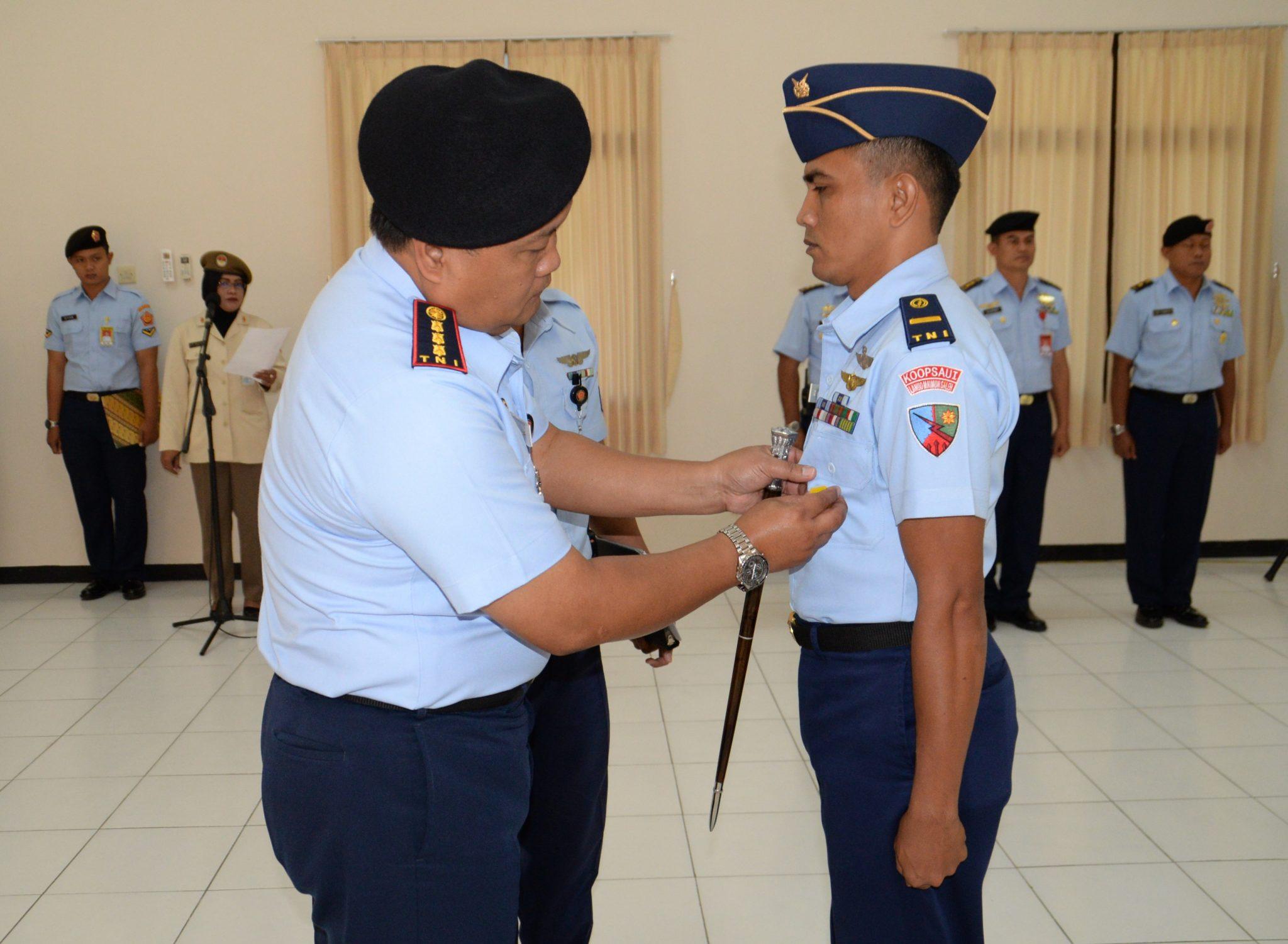 Komandan Pusdiklathanudnas Buka Suspa MCC II