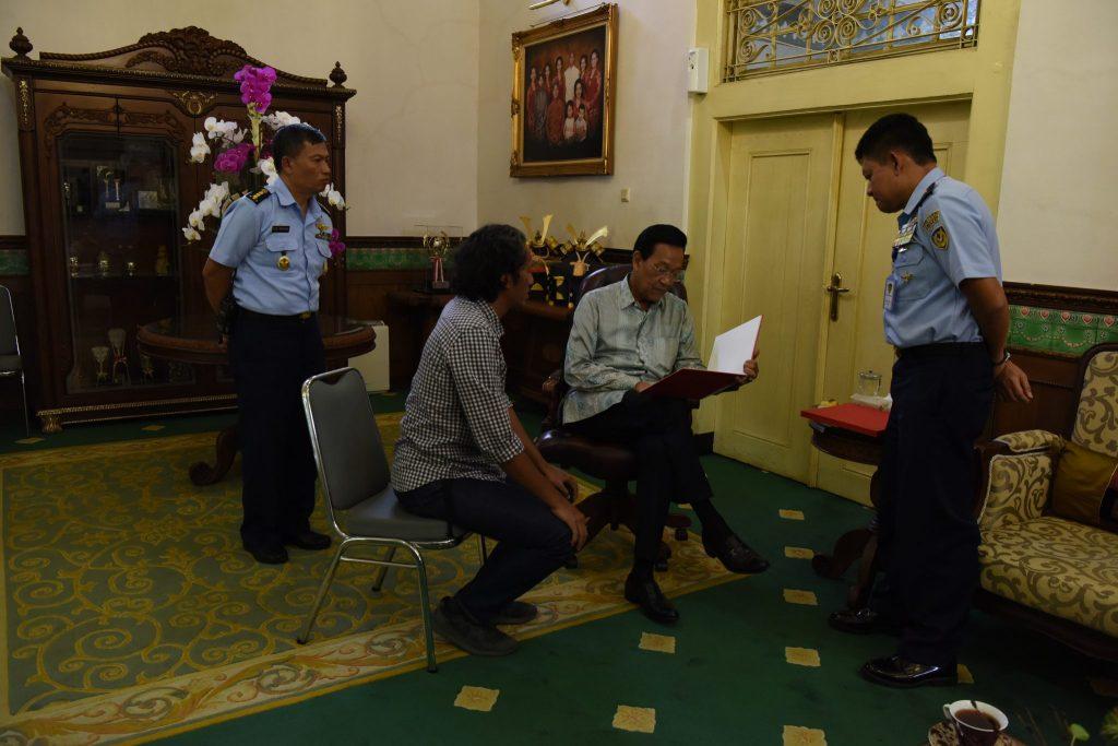 Kadispenau Audiensi Dengan Gubernur DIY Tentang Pengembangan Museum Pusat TNI AU Dirgantara Mandala