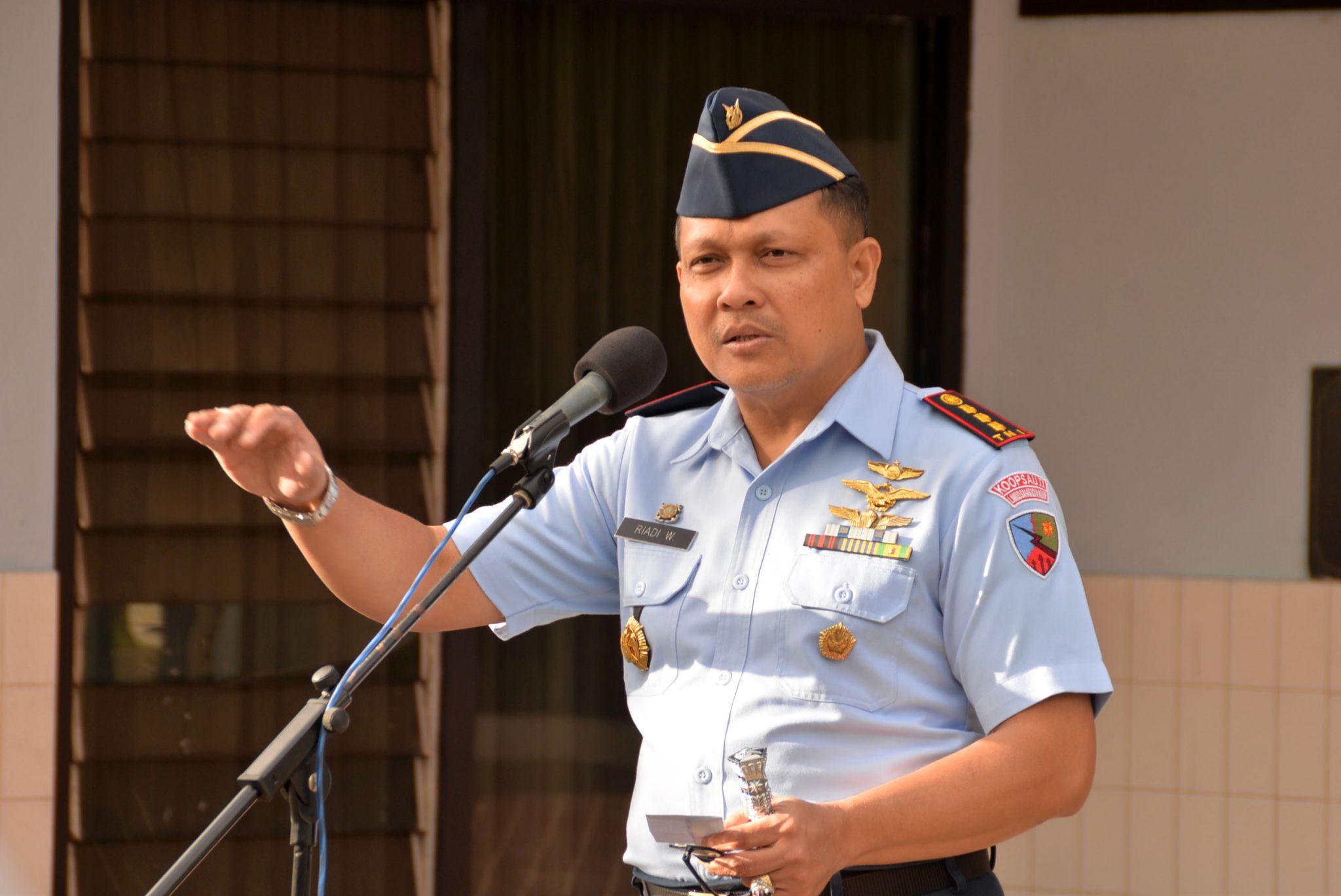 """Komandan Lanud Sjamsudin Noor ; """"Jauhi dan Hindari Narkoba serta Tindak Kriminal Apapun """""""