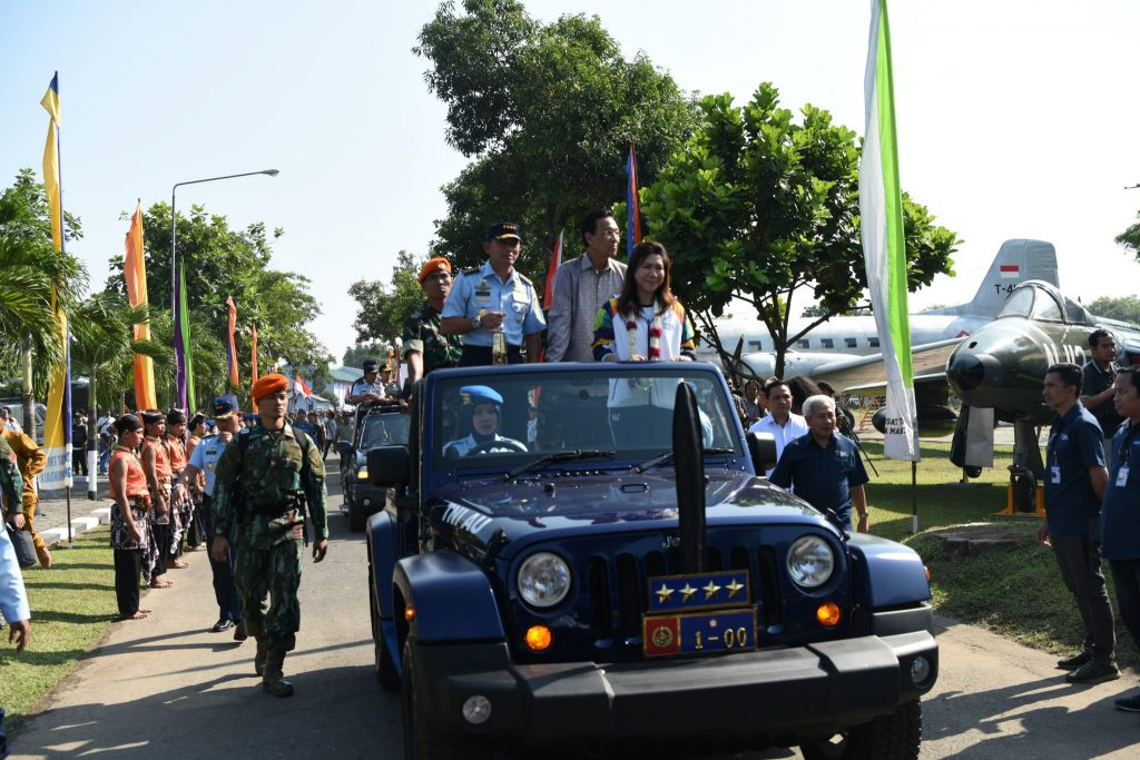 Kasau Terima Api Asian Games 2018 di Yogyakarta