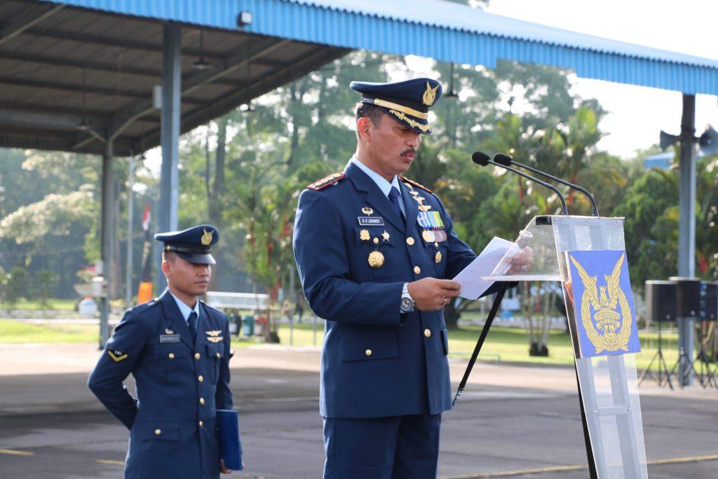 Upacara Peringatan Ke-71 Hari Bakti TNI Angkatan Udara Tahun 2018 di Medan