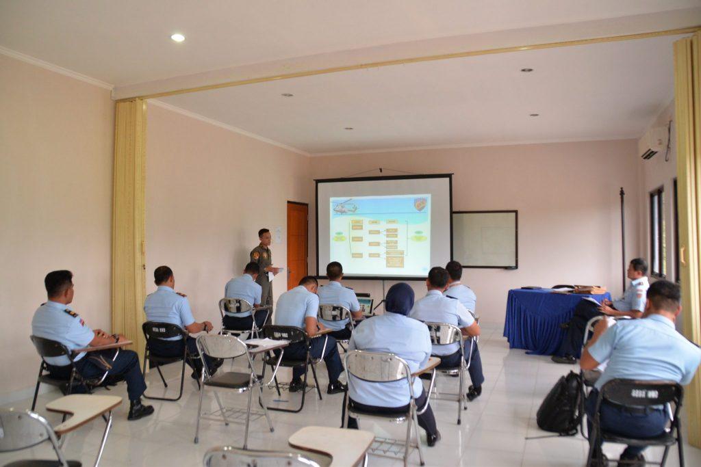 19 Perwira Laksanakan Ujian P2BS di Lanud Sultan Hasanuddin