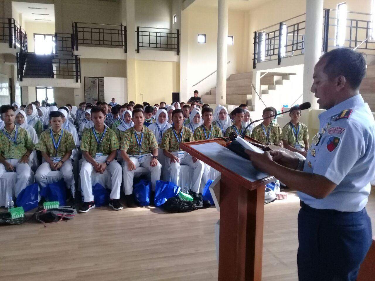 Jelang Hari Bakti Ke-71 TNI AU, Spotdirga Adakan Ceramah Bela Negara di Tarakan