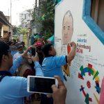 Lanud SMH Karya Bakti Bersama Warga Kampung Cempako Warna Warni