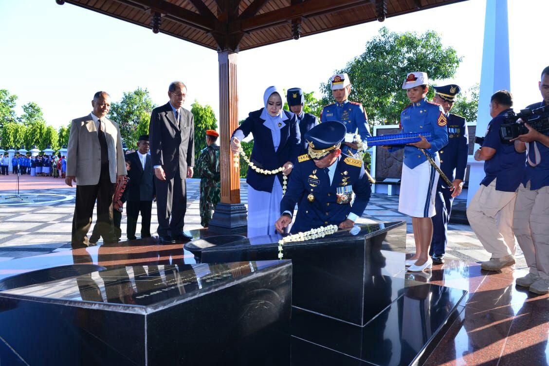 Hari Bakti TNI AU: Kasau Pimpin Ziarah ke Monumen Ngoto