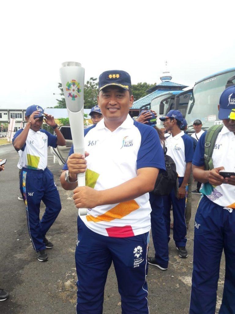 Kolonel Pnb Fajar Adriyanto: Dedikasi Pelatih Juara Dunia Paralayang, Bawa Obor Asian Games di Sorong