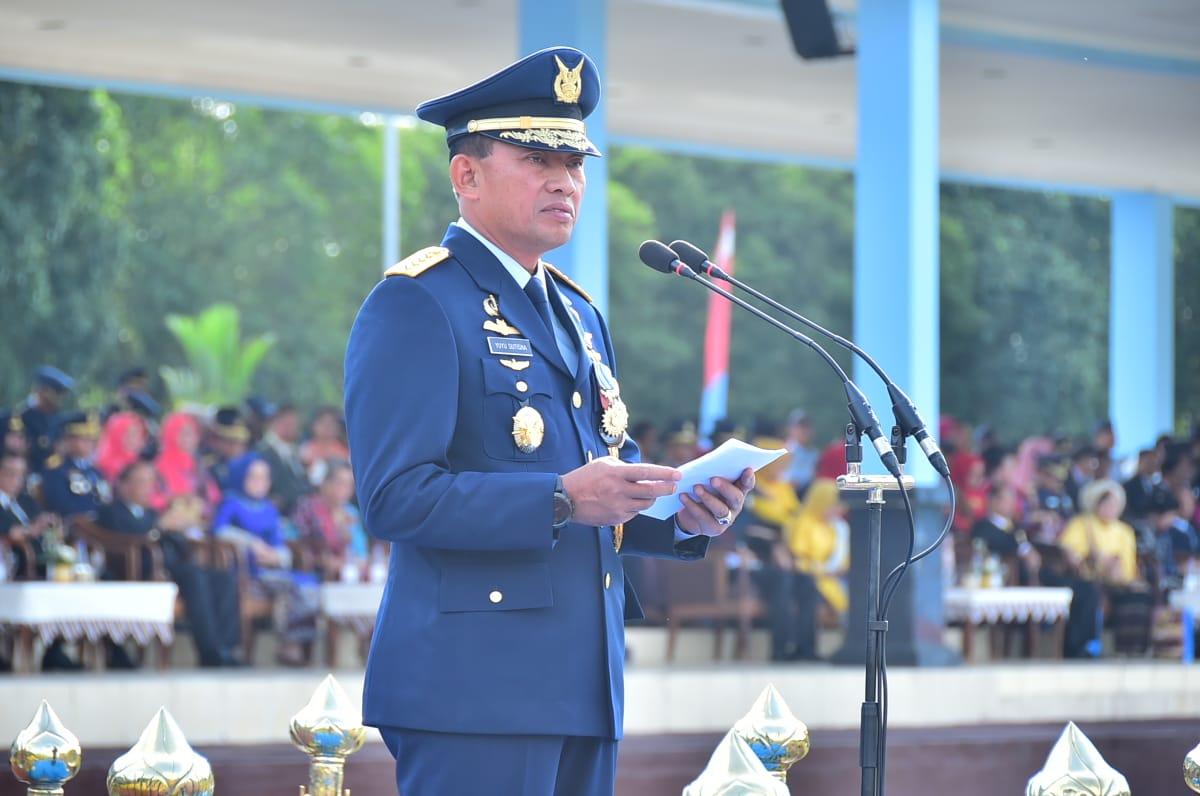 Peringatan Ke-71 Hari Bakti TNI AU di Yogyakarta : Bangun Kekuatan Ideal Dilandasi Profesionalisme Prajurit