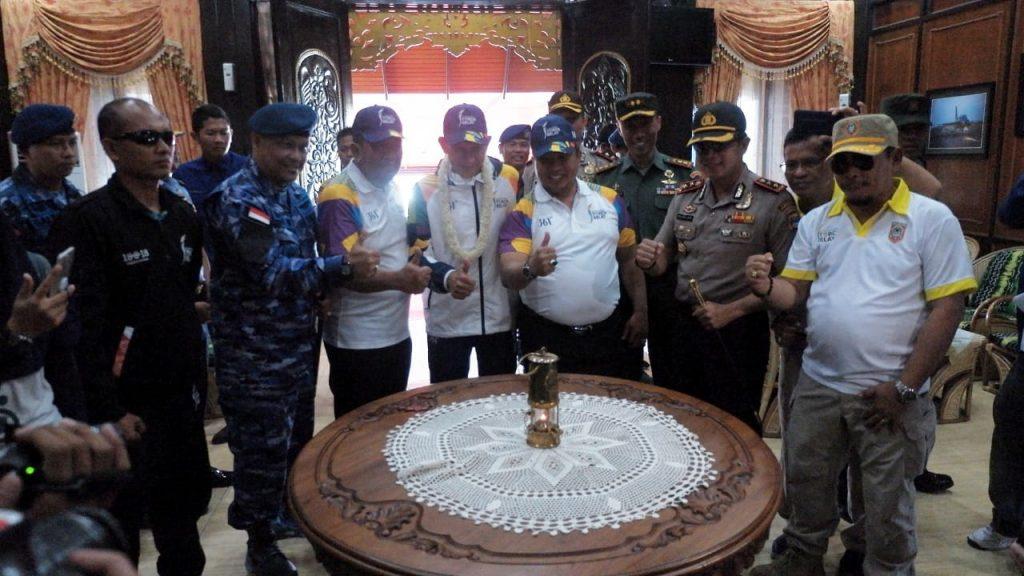 Walikota Banjarbaru Apresiasi Peran TNI AU Antar Api Asian Games ke Banjarmasin