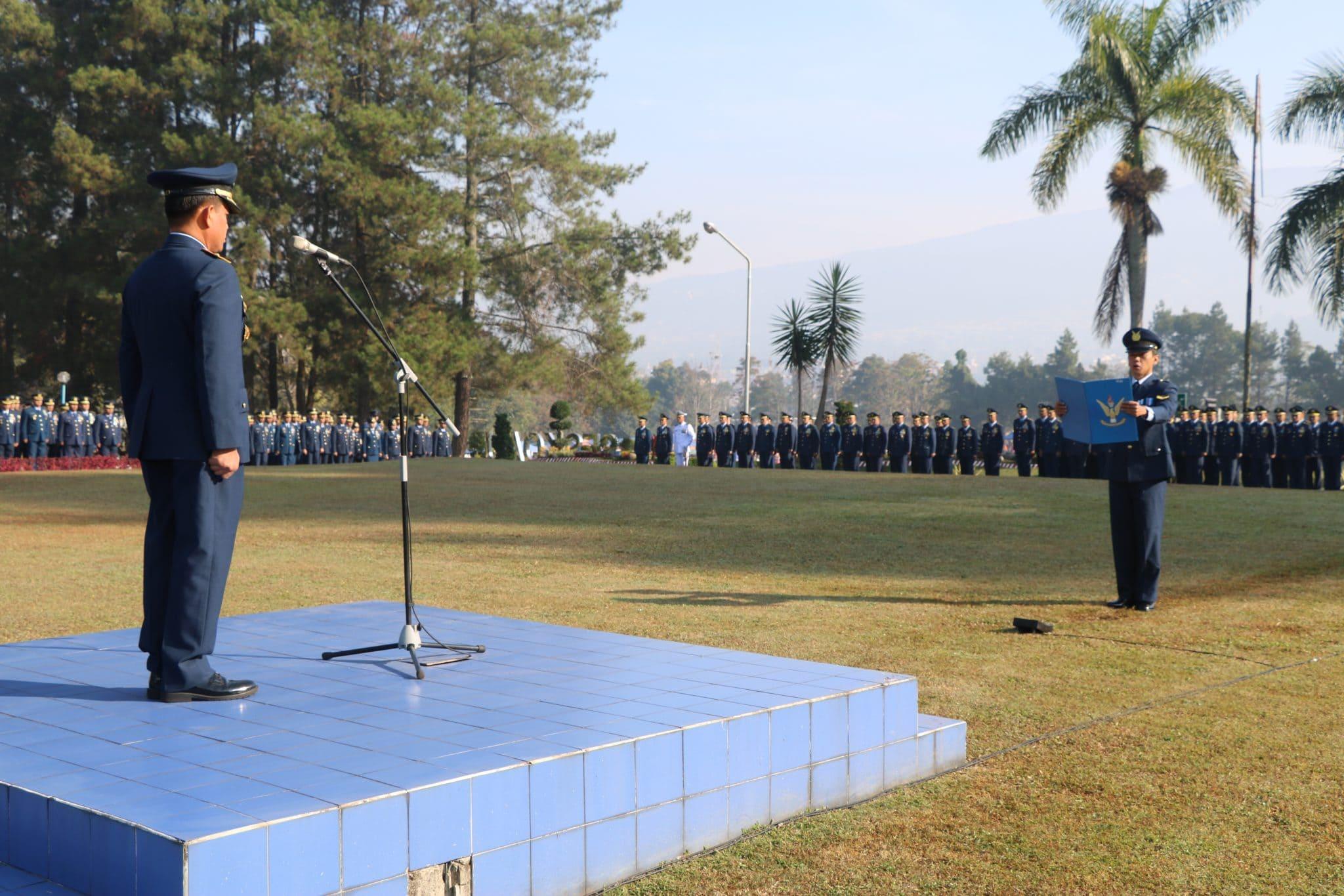 Hari Bakti TNI AU Ke-71 Diperingati Seskoau