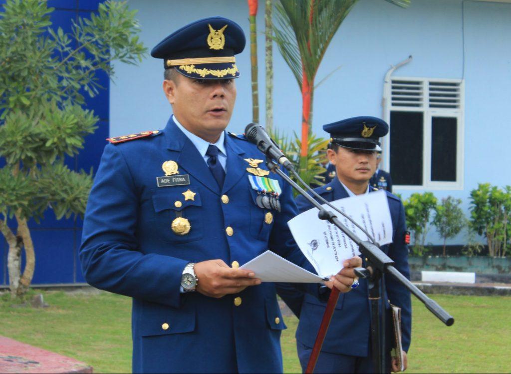 Peringatan Hari Bakti TNI AU Ke-71 Di Lanud Iskandar