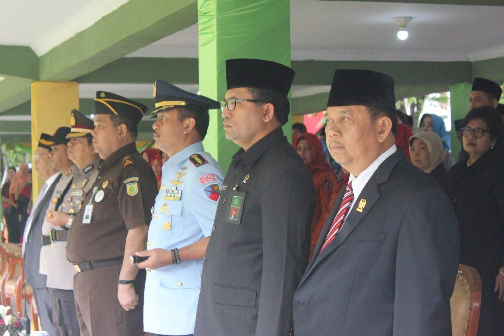 Danlanud Soewondo Hadiri Upacara Hut Ke-428 Kota Medan