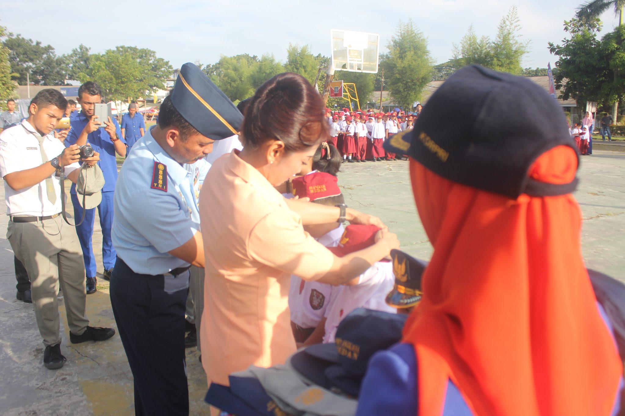 Danlanud Soewondo Buka MOPDB Sekolah Angkasa Medan