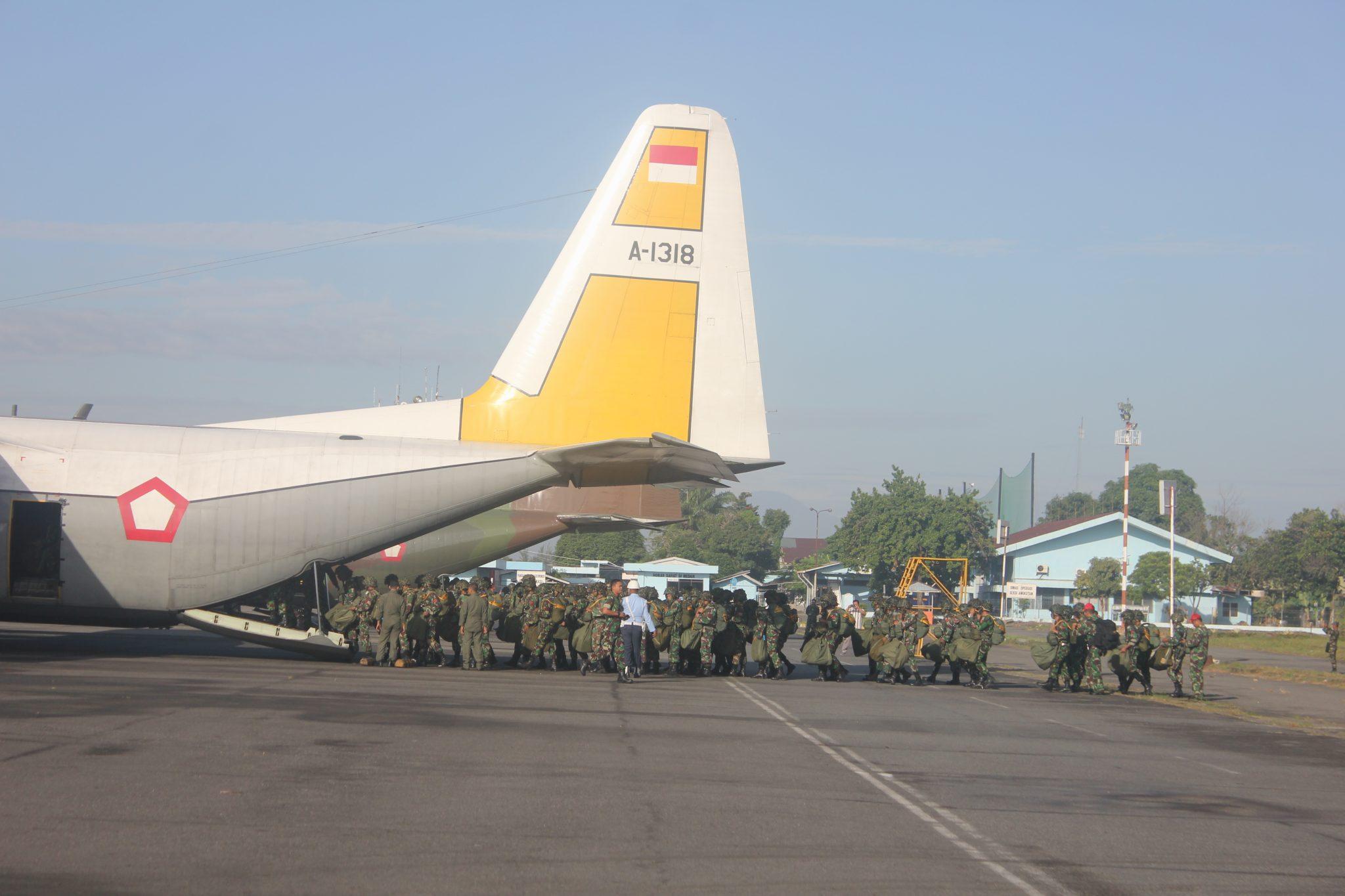 Lanud Soewondo Sebagai Pangkalan Aju Dukjunsatpur, CDS Dan Airlanded Latihan Jalak Sakti 2018