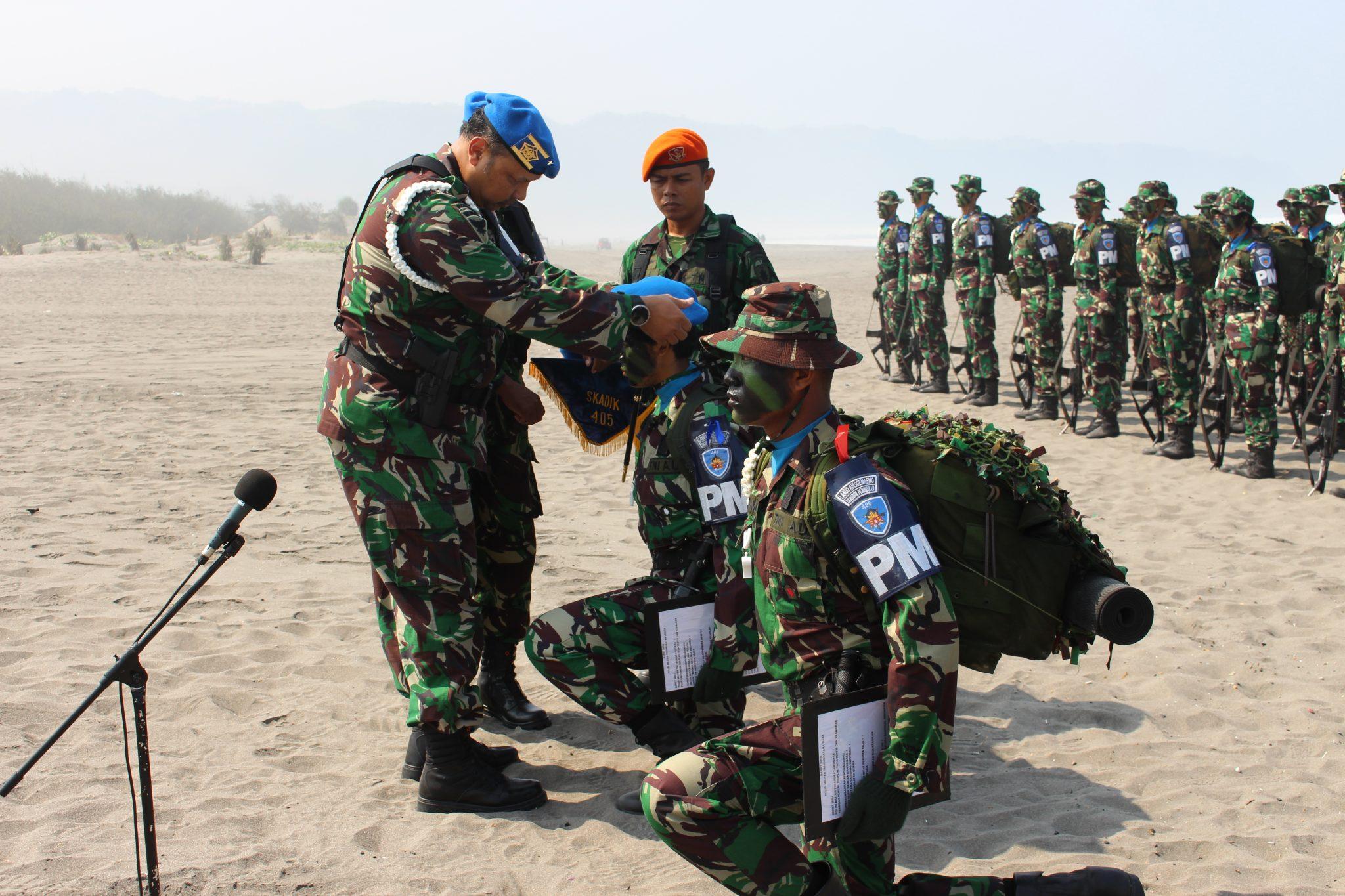 Sebanyak 72 Siswa Bintara Dan Tamtama TNI AU Menjadi Keluarga Besar Pomau