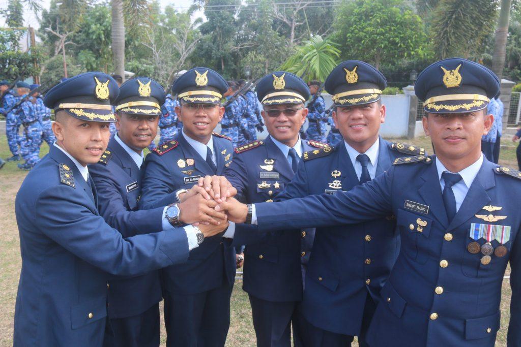 Lanud Raja Haji Fisabililah Gelar Upacara Peringatan ke 71 Hari Bakti TNI AU