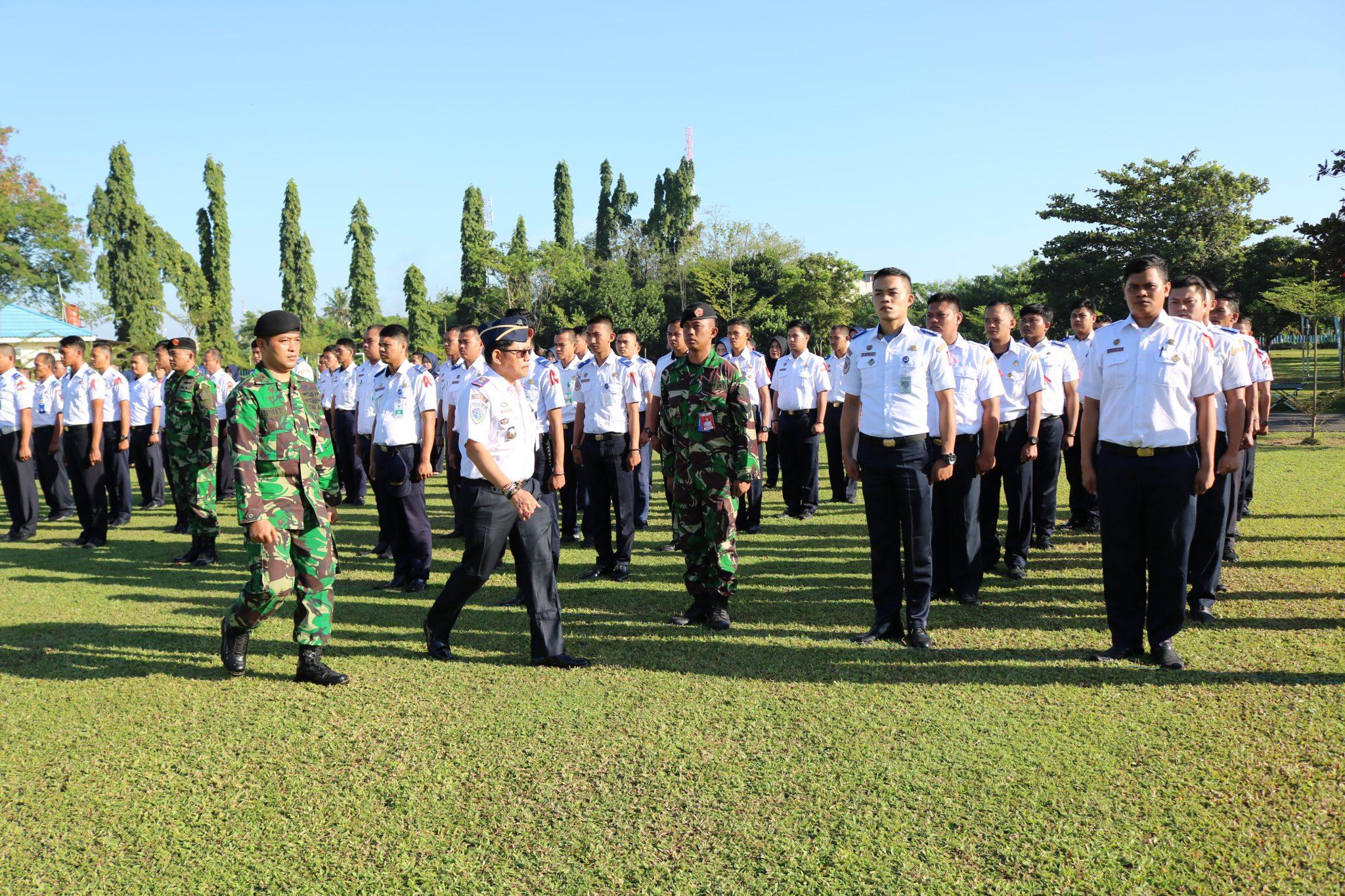 Pelatihan Bela Negara di Kosekhanudnas II Makassar