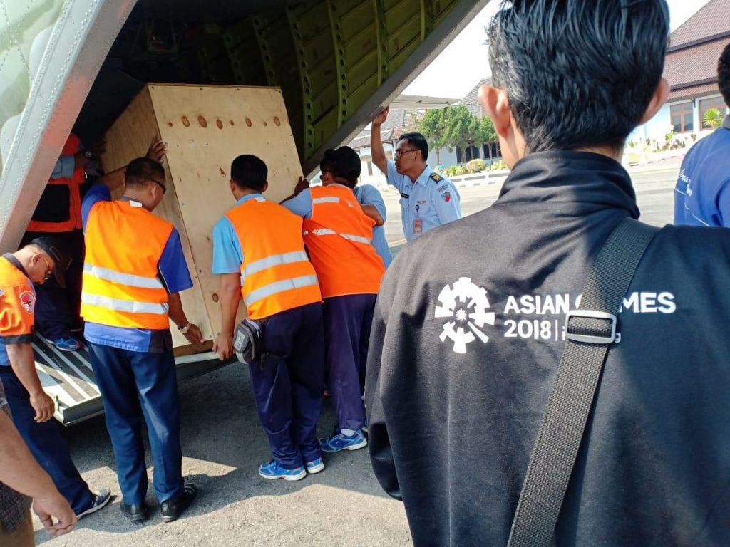 Skadud 4, Emban Misi Khusus Guna Sukseskan Torch Relay Asian Games 2018