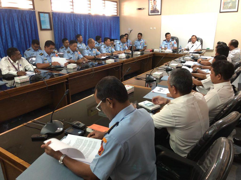 Dukung Keamanan Dan Keselamatan Penerbangan, Kosekhanudnas IV Biak Gelar Rakor Penguatan Kerjasama Militer-Sipil