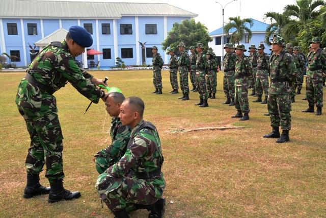 Komandan Sekkau Tutup Orientasi Sekkau 104