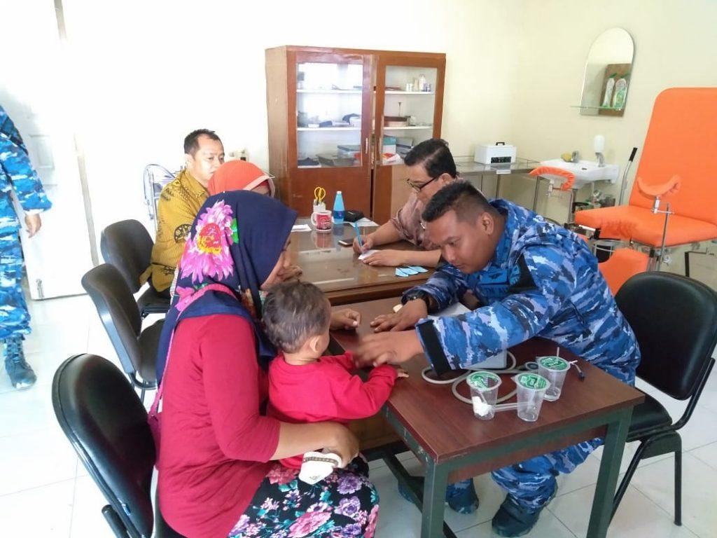 Peringati Hari Bakti TNI AU, Lanud Sutan Sjahrir Gelar Baksos