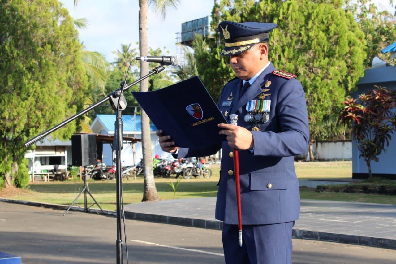 Lanud Leo Wattimena Peringati Hari Bakti TNI AU Ke-71 Ungkap Rasa Hormat Dan Bangga