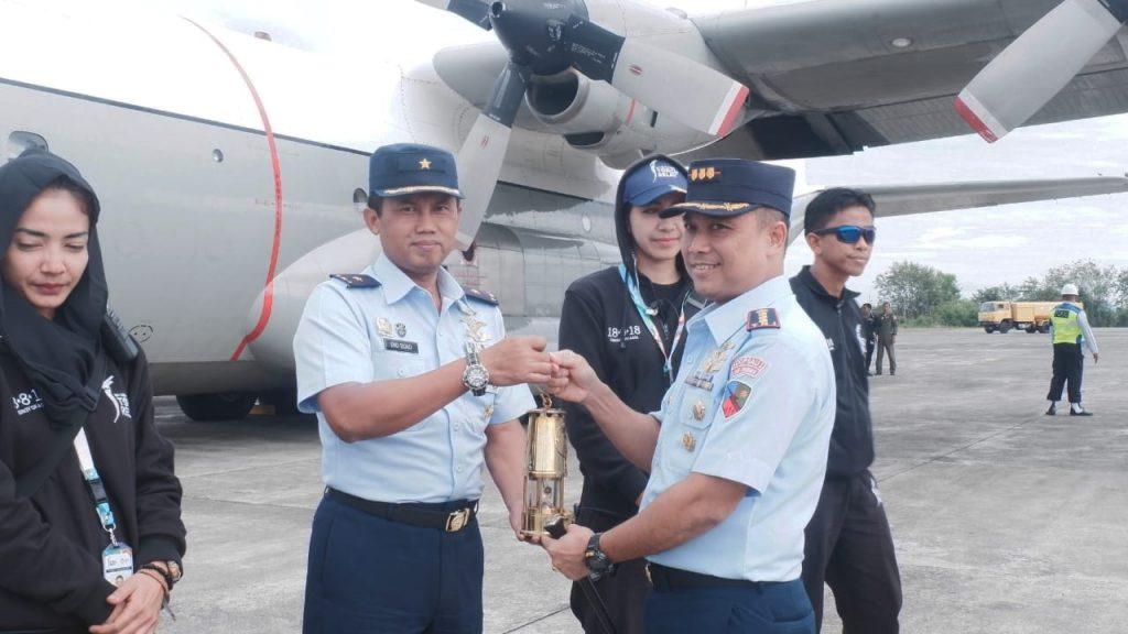 Disambut Prosesi Peusijuek, Api Asian Games Tiba di Aceh