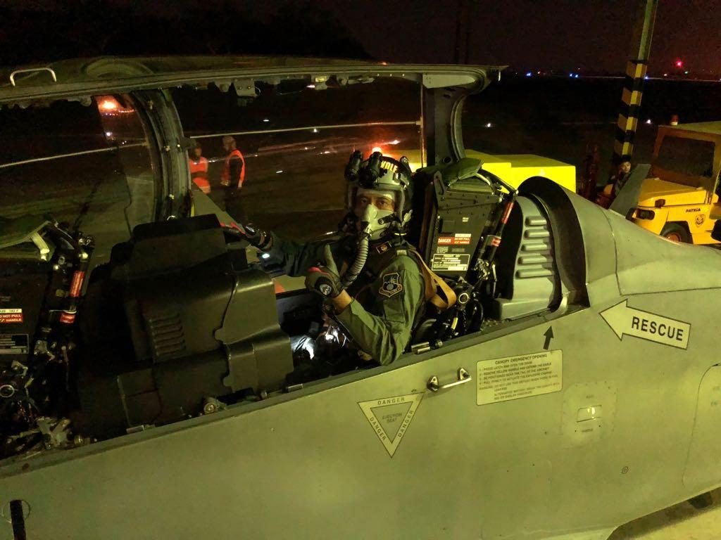 Skadron Udara 21 Wing 2 Lanud Abd Saleh Melaksanakan Latihan Night Weapon Delivery